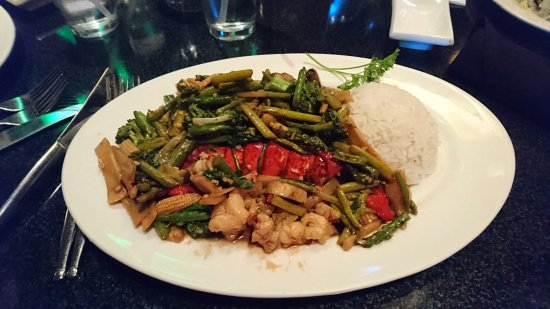 Perrysburg, OH: Lobster Canton Style (Wok au homard)