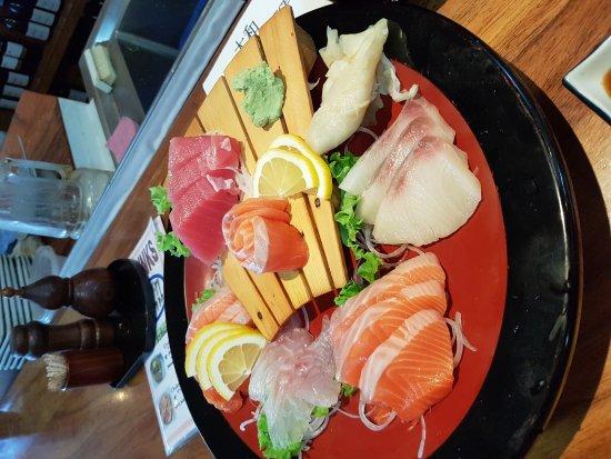 Yamato Japanese Restaurant : Yummy fresh sashimi. The best in all of NZ.