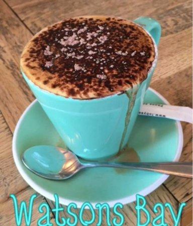 Watsons Bay, Austrália: Breakfast cappucino