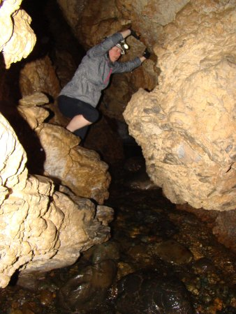 Horne Lake Caves Provincial Park: First cave