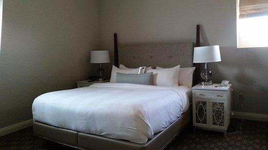 New Castle, Nueva Hampshire: King bed