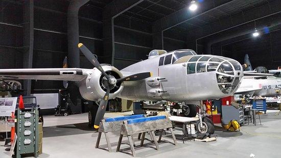 Warner Robins, GA: B-25J