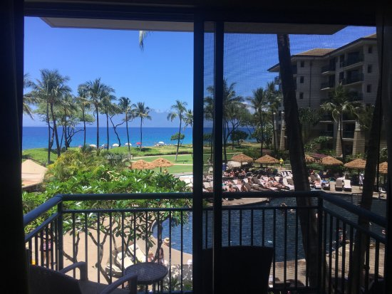The Westin Kaanapali Ocean Resort Villas : view from ocean front room