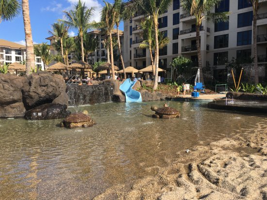 The Westin Kaanapali Ocean Resort Villas : The kids pool at the Nanea