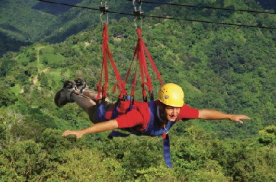La Bestia Zipline Tour at ToroVerde...