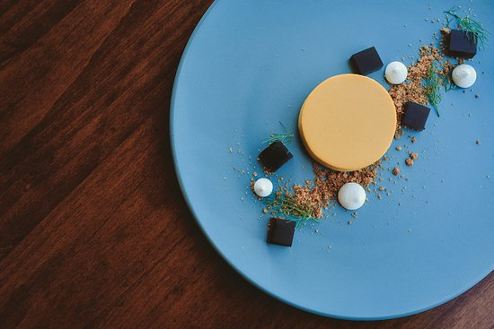 Hacienda Guadalupe Restaurante: Panna cotta de temporada