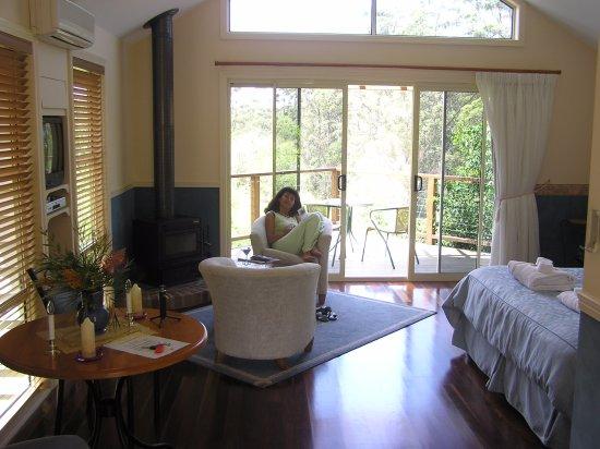 North Tamborine, Austrália: Vue vers la terrasse