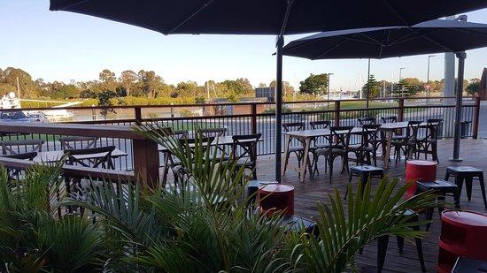 แกลดสโตน, ออสเตรเลีย: Marina views