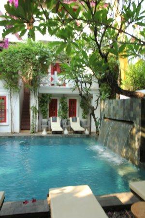 Rambutan Hotel Siem Reap Peaceful Pool Scene At