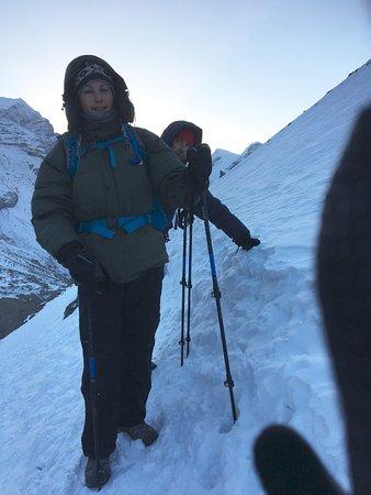 Kathmandu Valley, Νεπάλ: Climbing Thotong-La
