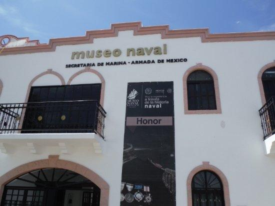 The Museo Naval. Puerto Vallarta