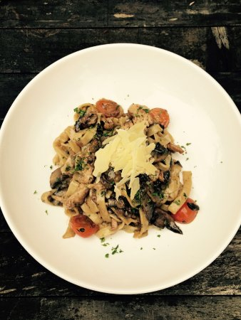 Beaumaris, Australia: A nice homemade Fettucine dish