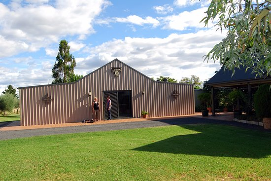 Inverell, Australia: The Cellar Door.