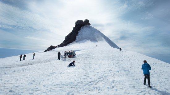 Snaefellsbaer, Islanda: Snaefellsjokull Glacier