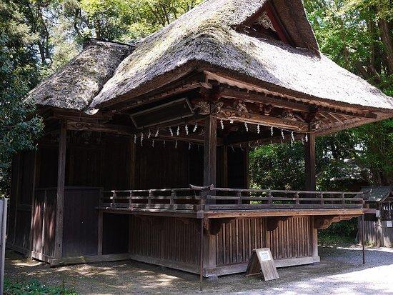 Kazo, ญี่ปุ่น: 神楽殿:年に何回か神楽が奉納されます