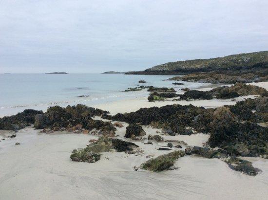 Ballyconneely, Irlanda: Aillebrack Green Coast Beach