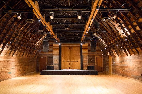 Barns of Rose Hill: Inside the Performance Hall