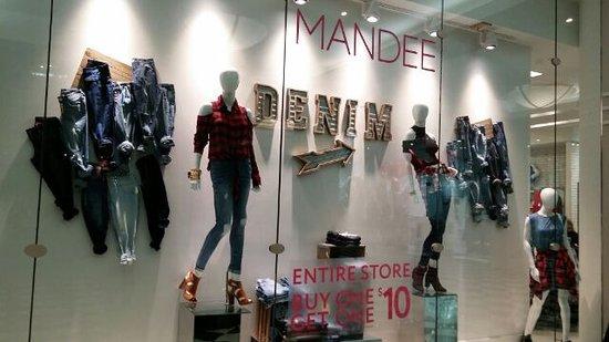 Manhattan Mall: Mandeeというお店が入っています