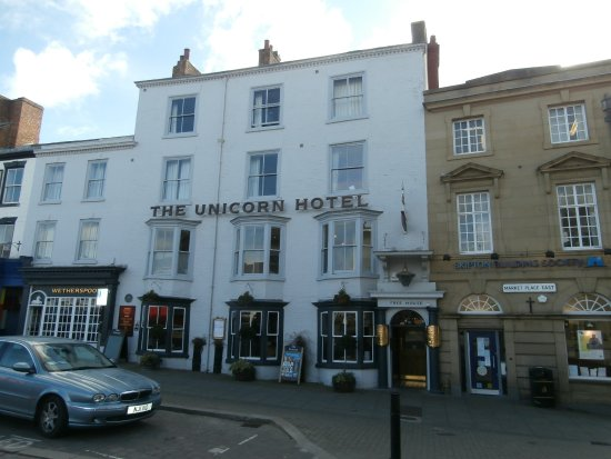 Unicorn Hotel Ripon Parking