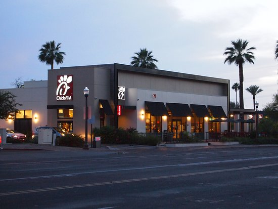Front picture of chick fil a tempe tripadvisor for Chick fil a fish sandwich 2017