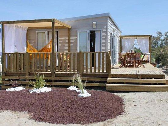 Camping Sunêlia Le Clos du Rhône: Cottage VIP Prestige