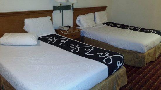Saint George, SC: Vue generale voir la tache tel que décrit dans le commentaire, premier lit au pieds, centre droi