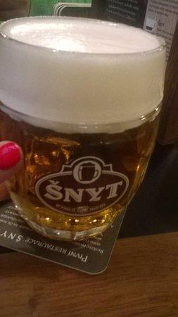 Prostejov, Republik Ceko: pivko jako křen