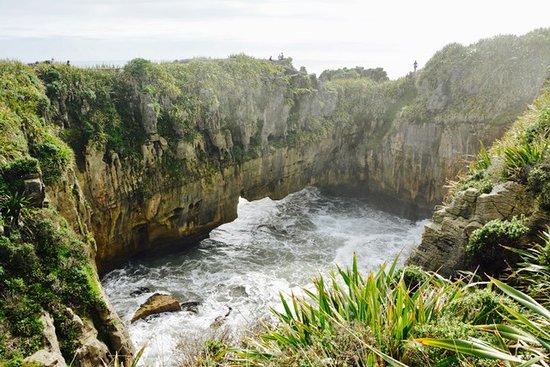 Punakaiki, Nueva Zelanda: Pancake Rocks path around this area--so awesome.