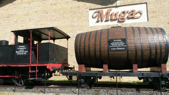 Haro, İspanya: Ancien moyen de ransport des fûts de vin