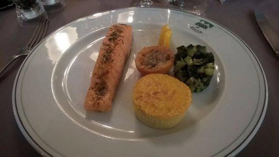 Le Clos du Cher : saumon