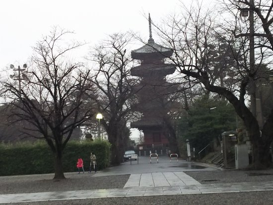 Ota, Jepang: 国の重要文化財の五重塔