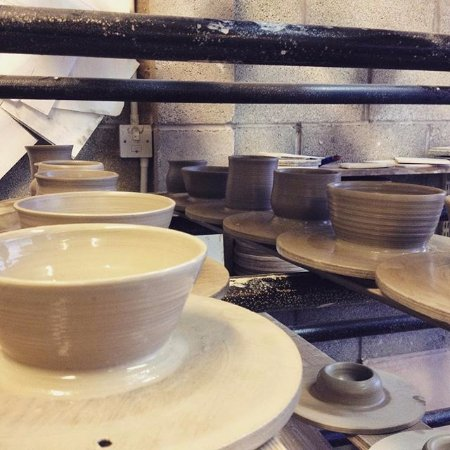Bentham, UK: The pots we threw.