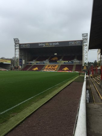 Motherwell, UK: South Stand