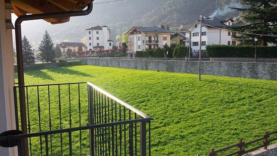 Pollein, Itália: il prato
