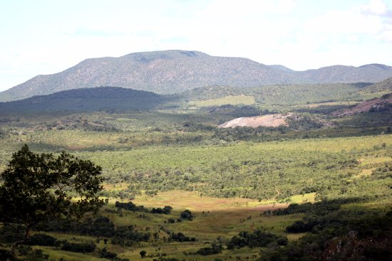 Serenje, Zambia: View of the rolling hills