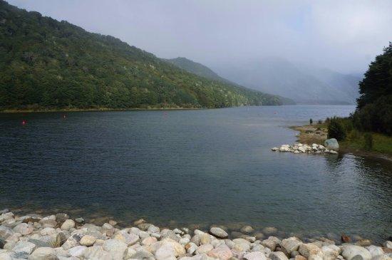 Tuatapere, New Zealand: The lake.