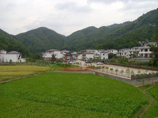 Meiling National Scenic Area : Ein kleines Dorf im Herzen von Meiling