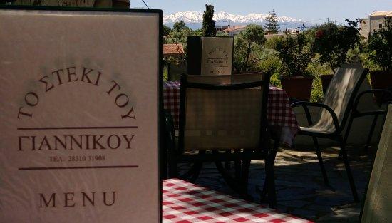 Prines, Grecia: Giannikos Taverna