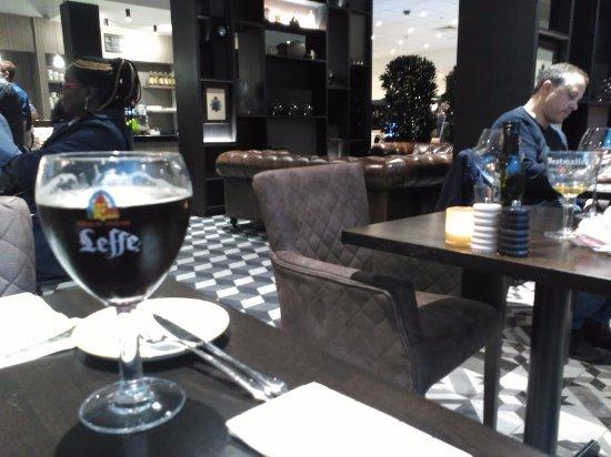 Diegem, بلجيكا: Leffe preta