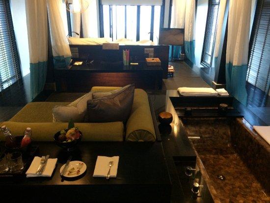 Four Seasons Resort The Nam Hai, Hoi An: Wohnen und schlafen auf unterschiedlichen Ebenen