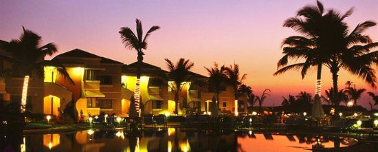 Utorda, Inde : Royal Orchid Beach Resort & Spa, Goa Night View