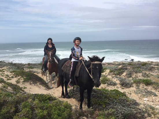 Kenton-on-Sea, Sør-Afrika: Horse Riding on the Beach