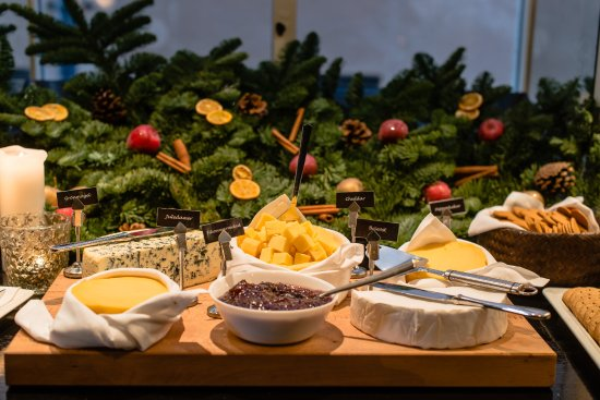 Christmas Cheese Platter.Cheese Platter At Anual Christmas Table Picture Of First