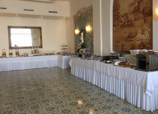 Europa Palace Grand Hotel: Frühstucksbuffett