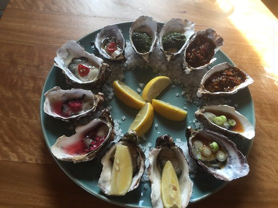 Dunalley, Australia: Mixed Platter Oysters