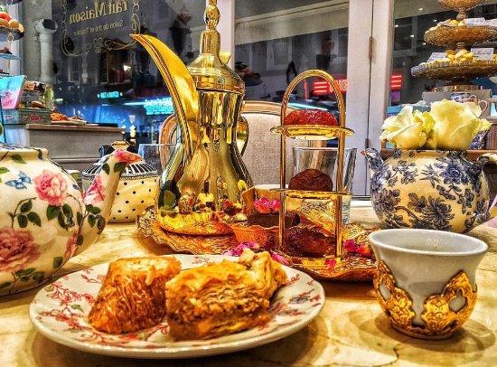Turkish Treats At Fait Maison Picture Of Fait Maison Salon De The London Tripadvisor