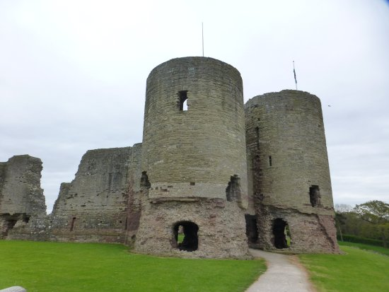 Rhuddlan, UK: Main Gatehouse