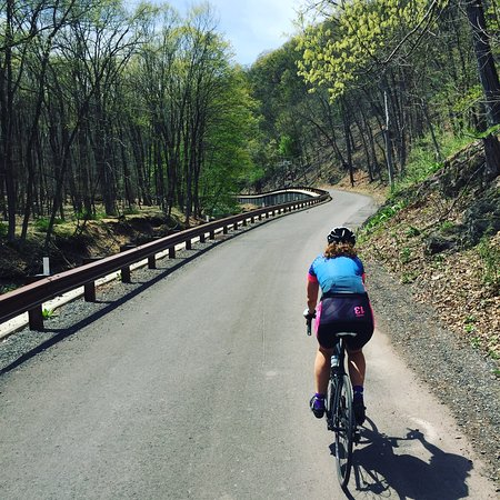Lambertville, Nueva Jersey: Lanes leading up to the small town of Carversville.