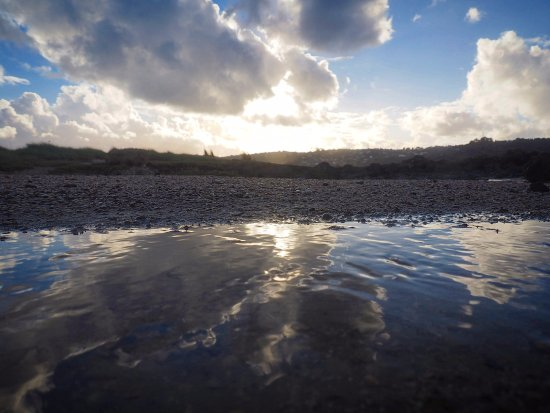 Manukau, Nieuw-Zeeland: interesting reflection