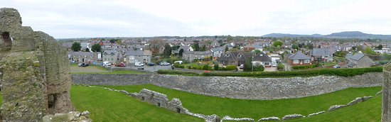 Rhuddlan from the Ramparts